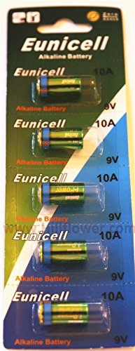 200 pcs 10A Bulk 9V Alkaline Battery Compatible with 10A A10 AG10 E10A G10A GP-10A GP10A L1022 MN10 WE10A plus Hillflower Coupon