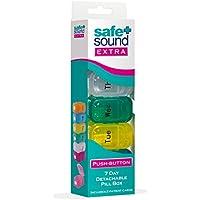 Safe and Sound Tablettenorganizer, 7 Tage, zum Aufklappen preisvergleich bei billige-tabletten.eu