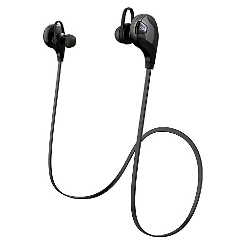 VicTop senza fili Bluetooth V4.0 cuffia auricolare in-Ear Apple con microfono per iPhone SE iPhone 6 più / 6s, 4s, 5, 5S, 5c, iPad Air, Samsung Galaxy e altri telefoni, dispositivi Bluetooth IOS Android, smartphone e altri dispositivi