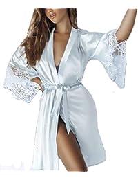 Kimono Batas Mujer, ❤ Modaworld Babydoll de Vestido de Kimono Sexy para Mujer Lencería