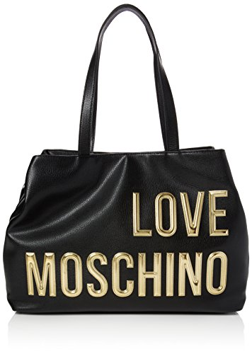 Love Moschino JC4080, Tote Donna, Nero (Black), 11x29x47 cm (B x H x T)