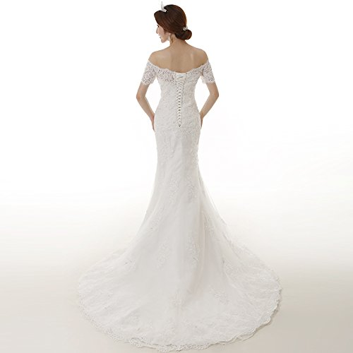 Robe de mariage Blanc