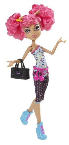 Mattel Monster High Y0431 -  Dance Class Howleen Wolf, Puppe