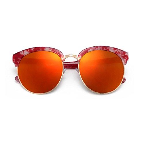 Chakil Damen Sonnenbrille Rot Rot 5.6 * 6.0cm