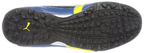 Puma Velize II Tt Jr, Chaussures de football garçon Noir (Black, Blazing Yellow, Brillant Blue)