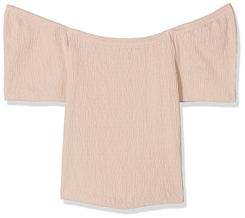 New Look Square Neck Shirred, Camiseta Para Niñas New Look