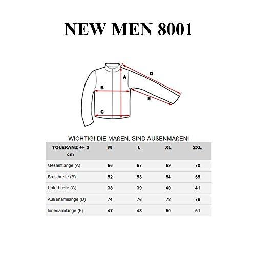 BOLF Herren Pullover Sweater Sweatshirt Strickpullover Pulli Slim Mix 5E5 Motiv Dunkelblau_8001