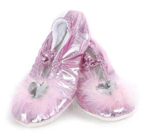 Imagen 1 de Grandes imitaciones -  disfraz de princesa zapatillas rosa (tamaño Medium) (de 4/6 años)
