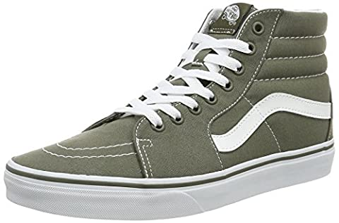 Vans UA SK8-Hi, Men Hi-Top Sneakers, Green ((Canvas) grape leaf), 6.5 UK (40 EU)