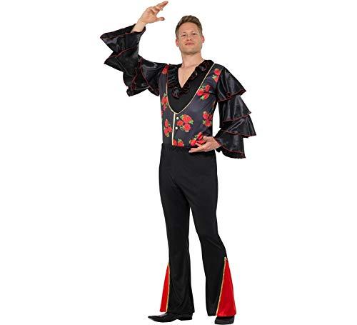 Für Kostüm Tänzer - Smiffys Flamenco Tänzer Herren Kostüm Spanier Karneval Fasching