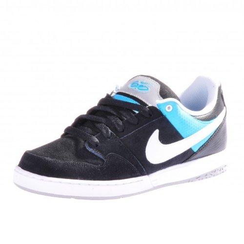 Nike Zoom Mogan 2 Schuhe Sneaker schwarz blau weiß , Größe:40 EU