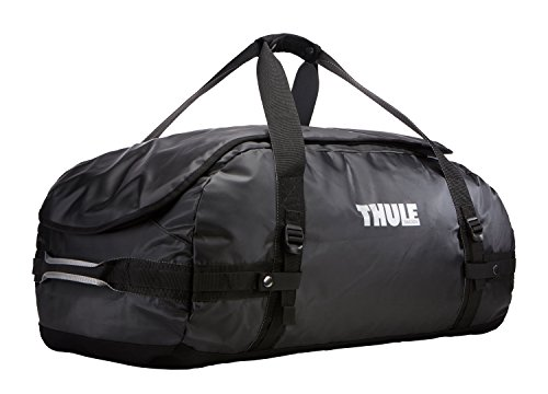 Thule Chasm Duffel Bag 90L (Rucksack und Reisetasche in einem) schwarz, Erwachsene
