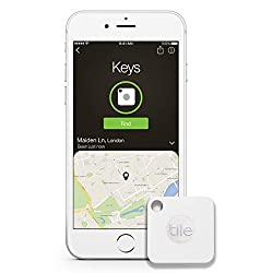 Lose less of everything, including your valuable time. Tile is a tiny Bluetooth tracker and easy-to-use app that finds everyday items in seconds-like your phone, keys, and wallet. Tile Mate is the latest generation product that has all the great feat...
