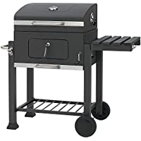 Crystals Portable BBQ Charcoal Grill Garden Outdoor Camping Food Cooking Barbecue Stove