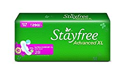 Stayfree Advanced XL Soft Ultra-thin (with wings, 28 pads)