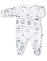 Bemini by Baby Boum Jersey Pyjama (3-6 Months, Apawi 90 Plum)