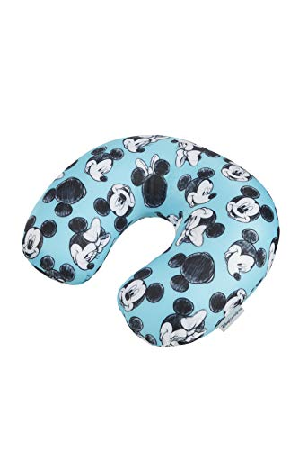Disney Reisekissen, 32 cm, 1 Liter, Mickey/Minnie Blue ()