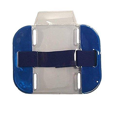 Kestronics® haute visibilité Sécurité Arm Band ID Supports (Bleu)