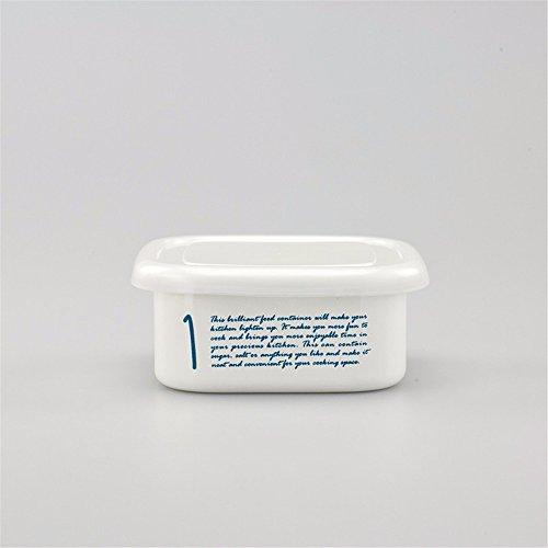 Wiederverwendbare Food Container/Essen Aufbewahrungsboxen, dicken Lack versiegelt, Aufbewahrungsbox, Kochnische Kühlschrank Aufbewahrungsbox Veranstalter Lunch Box Container Container, Medium, 13,5 * 13,5 * 5 Cm