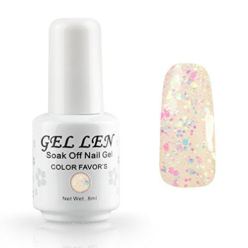 gellen-8ml-smalto-per-unghie-semipermanente-shellac-lampada-uv-gel-colori-a-nail-polish-262