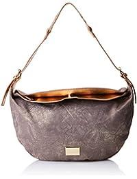 ABRIL, Womens Top-Handle Bag, Silver (Piedra Cielo), 14x27x45 cm (W x H L) Mariamare