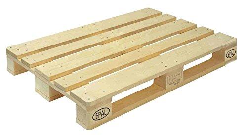 Galleria fotografica Pallet in legno EPAL-EPAL certificato -HT ISPM 15 FAO - cm 120 * 80 - Nuovo