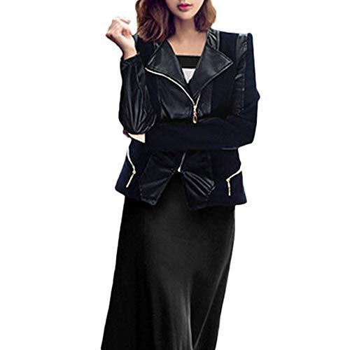 Giacca da donna con moda cintura cachemire in vera sottile pelle di mucca o di pelle di pecora genuino da cappotto qinsling