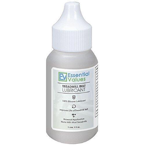 Essential Values Laufband Bandschmiermittel - 100 % Silikon Universal Treadmil Gürtel Lube