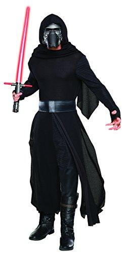 Rubie's 3810669 Kylo Ren Erwachsenen Kostüm, schwarz