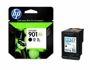 HP 901XL Schwarz Original Druckerpatrone mit hoher Reichweite für HP Officejet