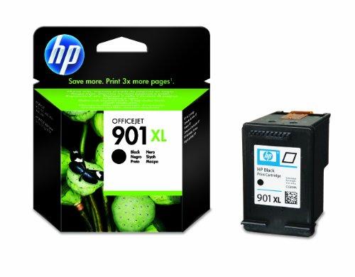 HP 901XL Schwarz Original Druckerpatrone mit hoher Reichweite für HP Officejet, 700 Seiten - Wireless Hp Desktop