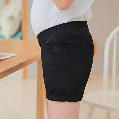 Cuffed Capri Hose (WNuanjun, Weiche Baumwolle Niedrige Taille Mutterschaft Shorts Hosen Für Schwangere Kleidung Baumwolle Schwangerschaft Shorts Dünne Frauen Sommer Mutterschaft Cuffed Shorts Capris)