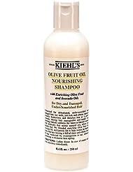 Kiehl's Huile de Fruit d'Olive Shampoing Nourissant - Bouteille Taille Moyenne 8.4oz (250ml)