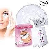 Eye Gel Pads - 50 Pairs of Eyelash Lash Extension Under Eye Gel Pads Lint Eye Patches (50PCS)