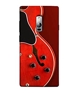 PrintVisa Designer Back Case Cover for OnePlus 2 :: OnePlus Two :: One Plus 2 (Guitar Sitar Violin Strings Buttons)