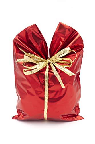 ItalpakSobres de Regalo Metalizados Soft,  50 piezas, Rojo, 20x35cm