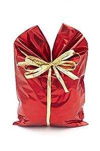 ItalpakSobres de Regalo Metalizados Soft,  50 piezas, Rojo, 25x40cm