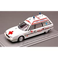 KESS MODEL KS43011011 CITROEN CX 20 RE BREAK AMBULANCE CROCE ROSSA 1986 1:43