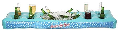 npw Extra Groß Neuheit Aufblasbare Getränkehalter–Riesige aufblasbare Schwimmen bis Bar von Pop Fix