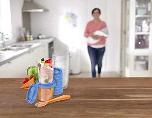 Philips Avent SCF721/20 Aufbewahrungssystem für Babynahrung, 20er Pack (10×180 ml, 10x 240 ml) - 4