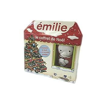 Emilie : Le coffret de Noël : Coffret 2 livres + 1 poupée