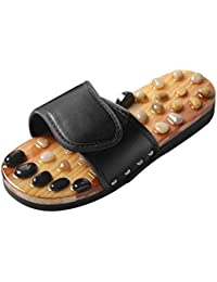 474d15b6d Jiyaru Sandalias de Estar por Casa Unisex Adultos Antideslizantes  Zapatillas de baño con Puntos de Masaje