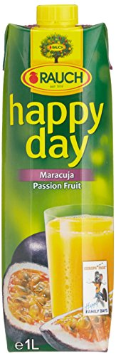 Rauch Happy Day Maracujanektar mit Vitamin C, 1 l