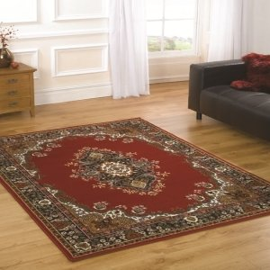 Element Lancaster Navy Contemporary Rug Rug Size: 250cm x 180cm (8 ft 2.5 in x 5 ft 11 in)