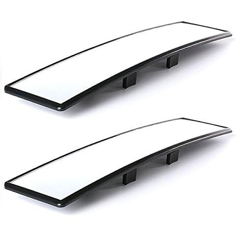 XCSOURCE Broche Espejo Gran Angular Vista Panorámica Trasera Coche Interior 300mm MA164