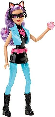Mattel Barbie DHF18 - Modepuppen, Das Agententeam, Die Katzendiebin