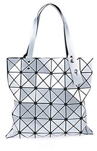 Cabrio-nylon-aktentasche (Frauen BerüHmte Schulter Handtaschen Geometrische Raute Taschen Bao Bag Messenger Bags 3)