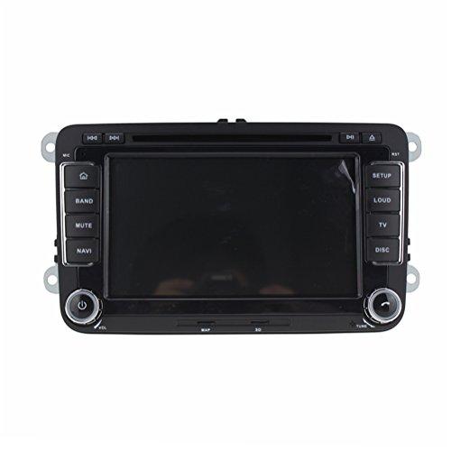 Top Navi 7inch 1024*600 double din Android 5.1.1 Car DVD Player for VW SAGITAR/JATTA/JETTA/PASSAT/GOLF/CADDY/POLO/TIGUAN/BORA Auto GPS navigation Wifi Bluetooth Radio 1.6 GB CPU Rockchip RK3188 Cortex A9 DDR3 Capacitive Touch Screen 3G car stereo audio Phonebook RDS AUX DVR Mirror Link 16GB Quad Core