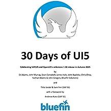 30 Days of UI5: Celebrating SAPUI5 and OpenUI5's milestone 1.30 release in Autumn 2015