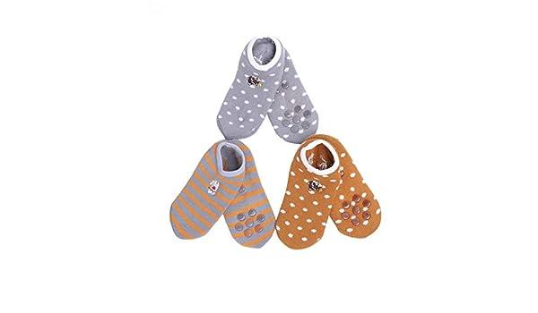 ZLR Non-Slip Cotton Socks for Women with Grips Hospital for Home Yoga Pilates